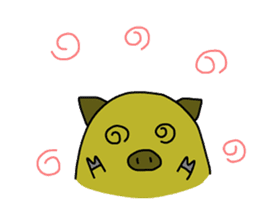 tonguri sticker #338030