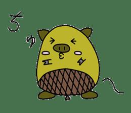 tonguri sticker #338040