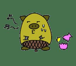 tonguri sticker #338041