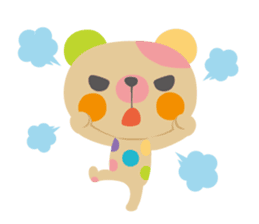 MARBLE BEAR sticker #338998