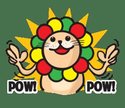 Ragga Lion sticker #339065