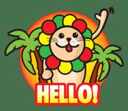 Ragga Lion sticker #339066