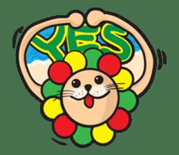 Ragga Lion sticker #339068