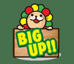 Ragga Lion sticker #339071