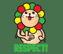 Ragga Lion sticker #339072