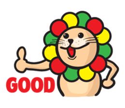 Ragga Lion sticker #339077