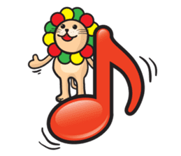 Ragga Lion sticker #339079