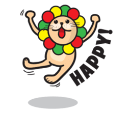 Ragga Lion sticker #339080