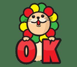 Ragga Lion sticker #339081