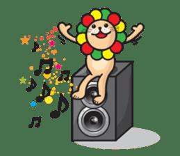 Ragga Lion sticker #339083