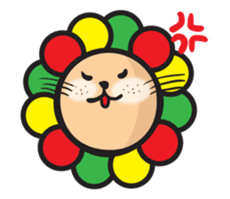 Ragga Lion sticker #339084