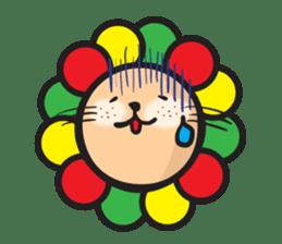Ragga Lion sticker #339086