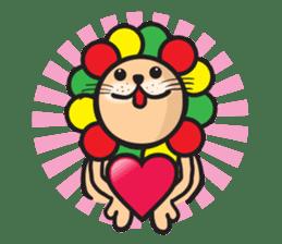 Ragga Lion sticker #339089