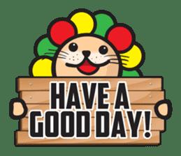 Ragga Lion sticker #339090