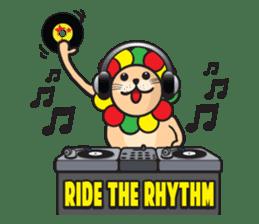 Ragga Lion sticker #339093