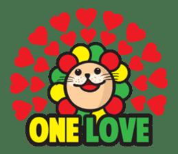 Ragga Lion sticker #339095