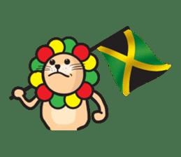 Ragga Lion sticker #339098