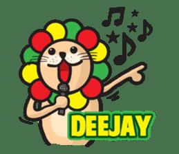 Ragga Lion sticker #339099