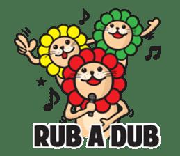 Ragga Lion sticker #339100