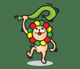 Ragga Lion sticker #339101