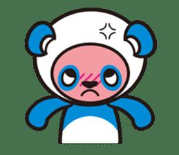 AQUA PANDA chari & chara sticker #340028