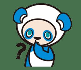 AQUA PANDA chari & chara sticker #340031