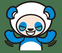 AQUA PANDA chari & chara sticker #340048