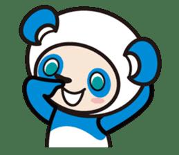 AQUA PANDA chari & chara sticker #340051