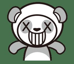 AQUA PANDA chari & chara sticker #340053
