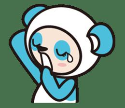 AQUA PANDA chari & chara sticker #340062