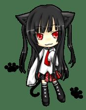 Ojounyan (Miss Little Meow) sticker #340585