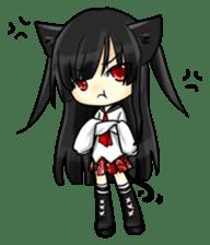 Ojounyan (Miss Little Meow) sticker #340586