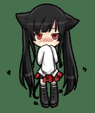 Ojounyan (Miss Little Meow) sticker #340587
