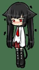 Ojounyan (Miss Little Meow) sticker #340588