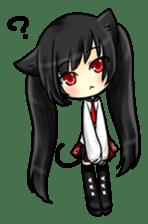 Ojounyan (Miss Little Meow) sticker #340592