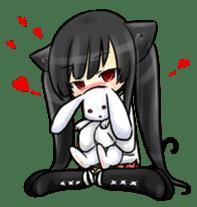 Ojounyan (Miss Little Meow) sticker #340594