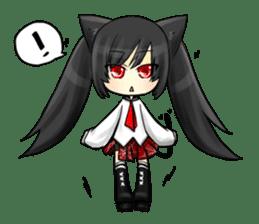 Ojounyan (Miss Little Meow) sticker #340595