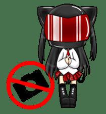 Ojounyan (Miss Little Meow) sticker #340600