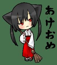 Ojounyan (Miss Little Meow) sticker #340603