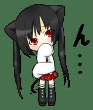 Ojounyan (Miss Little Meow) sticker #340604