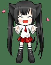 Ojounyan (Miss Little Meow) sticker #340610