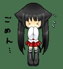 Ojounyan (Miss Little Meow) sticker #340615