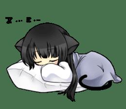 Ojounyan (Miss Little Meow) sticker #340617