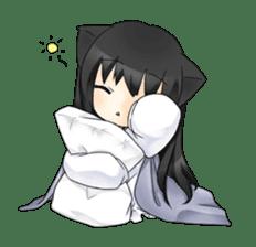 Ojounyan (Miss Little Meow) sticker #340618