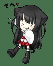 Ojounyan (Miss Little Meow) sticker #340620