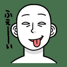 Subtle expression sticker #341282