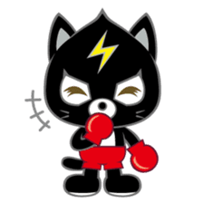Fighting Cat sticker #342575