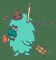 Mossan of mop sticker #344272