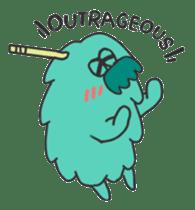 Mossan of mop sticker #344273