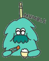 Mossan of mop sticker #344277